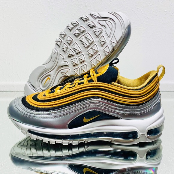"new arrival 075b1 52d5a Nike Air Max 97 SE Limited ""Metallic Gold Pack"" NWT"